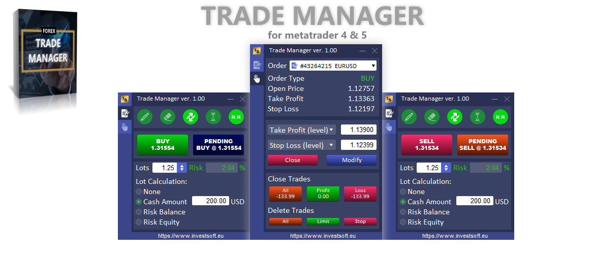 forex trade manager position size calculator mt4 mt5